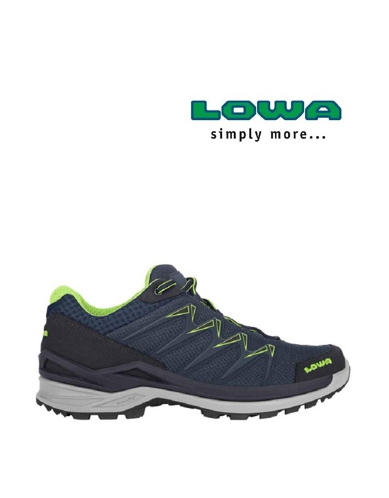 Lowa Innox Pro Low Navy/limone - Freizeitschuh -