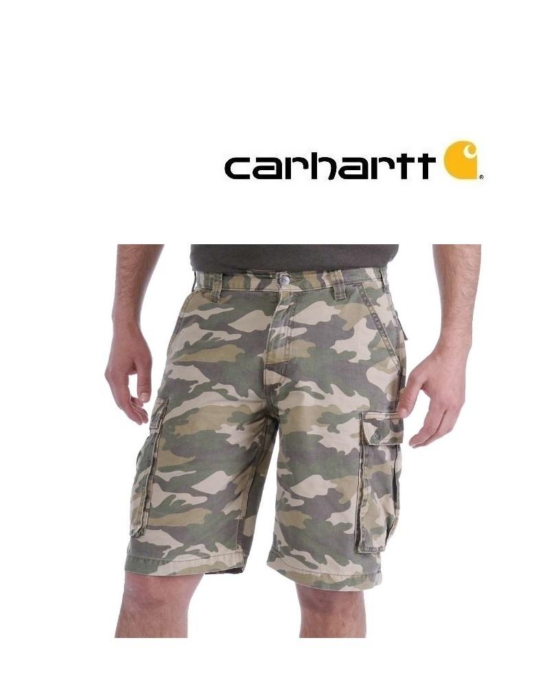 Carhartt Kleider 100279.Khaki - Carhartt Shorts - Rugged Cargo Camo Short