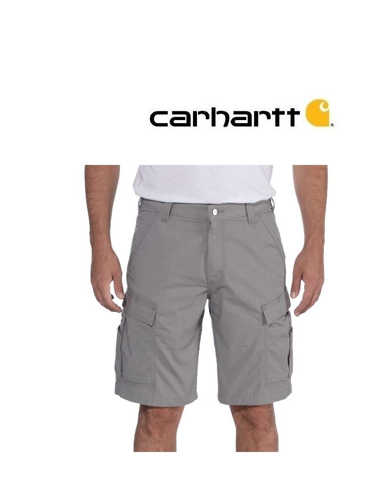 Carhartt Kleider 103543.066 - FORCE BROXTON CARGO SHORT Grau, extra dünn