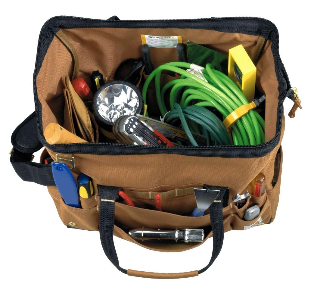 Carhartt Kleider 260107B.brn - Grosse Werkzeugtasche - LEGACY 16'' TOOL BAG - Copy
