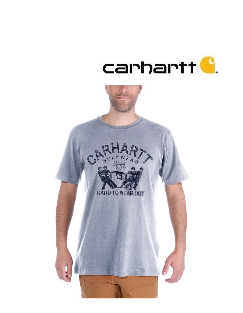 Carhartt Kleider 102097.034 - T-Shirt Hard to wear out - Grau
