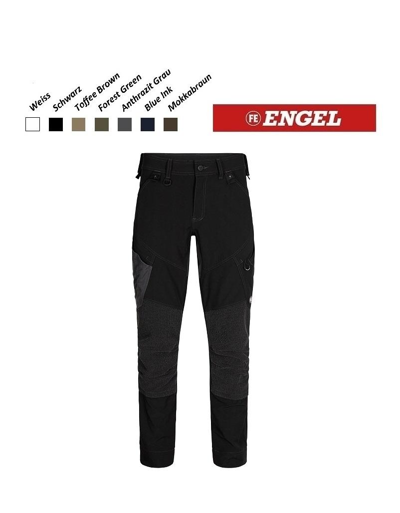 Engel FE2366.20.S- Arbeitshose - X-Treme Stretchose, schwarz