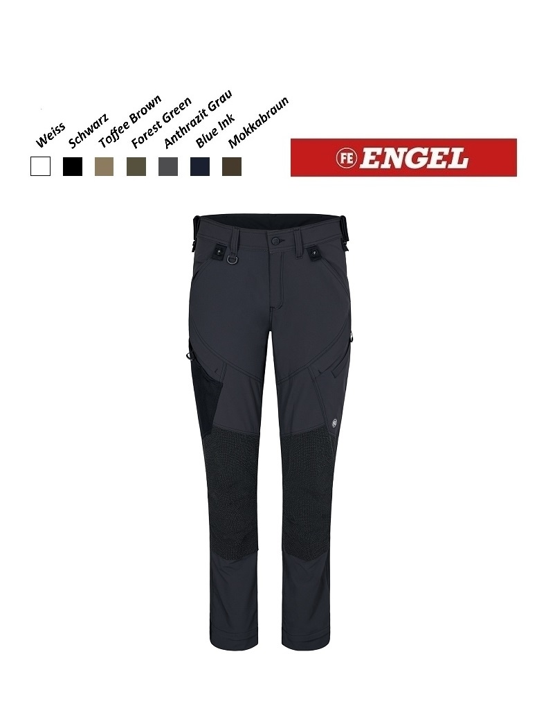 Engel FE2366.79.S- Arbeitshose - X-Treme Stretchose, Anthrazit Grau