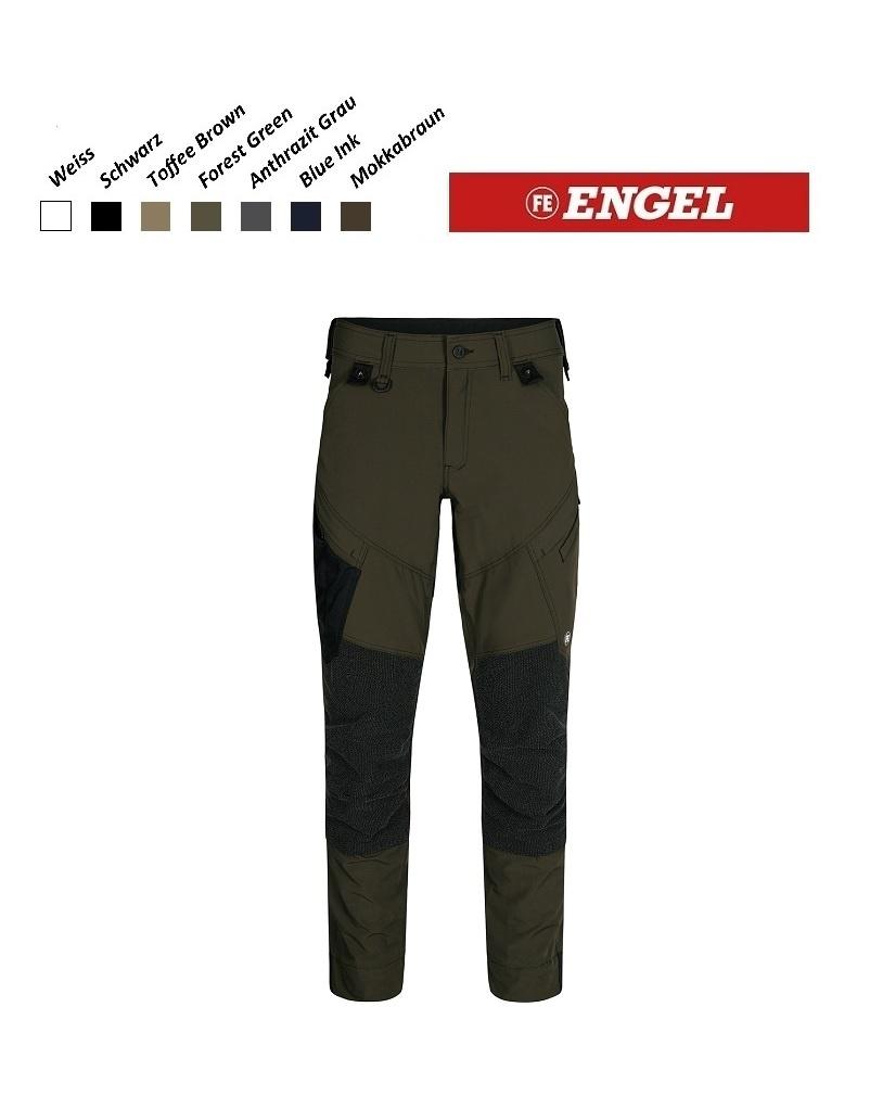 Engel FE2366.53.S - Arbeitshose - X-Treme Stretchose, Forest Green