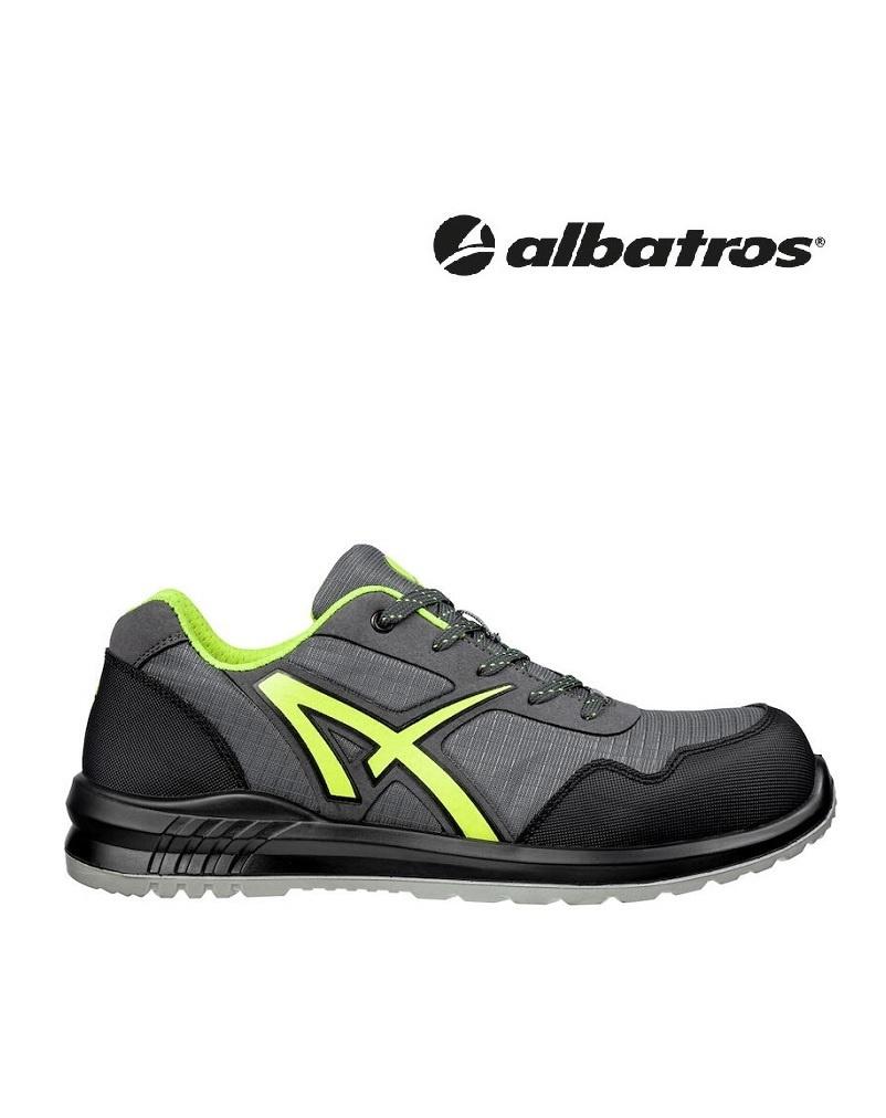 Albatros Schuhe 648730 S1P -  DRIFTER GREEN LOW // S1P SRC, vegan Sicherheitsschuh