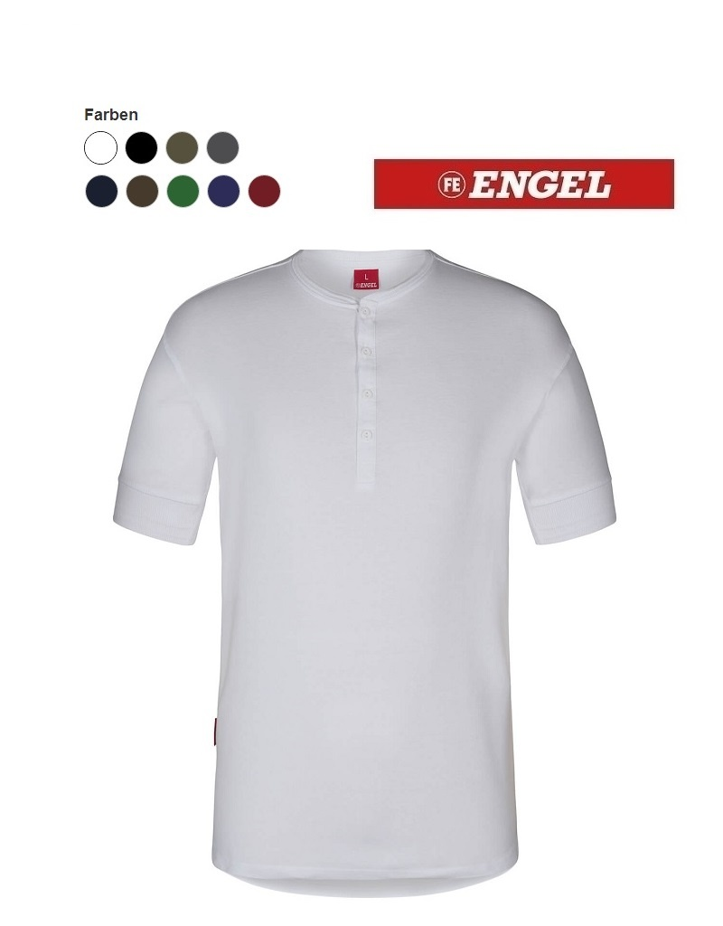 Engel FE9256  Grandad Kurzärmliges T-Shirt von ENGEL