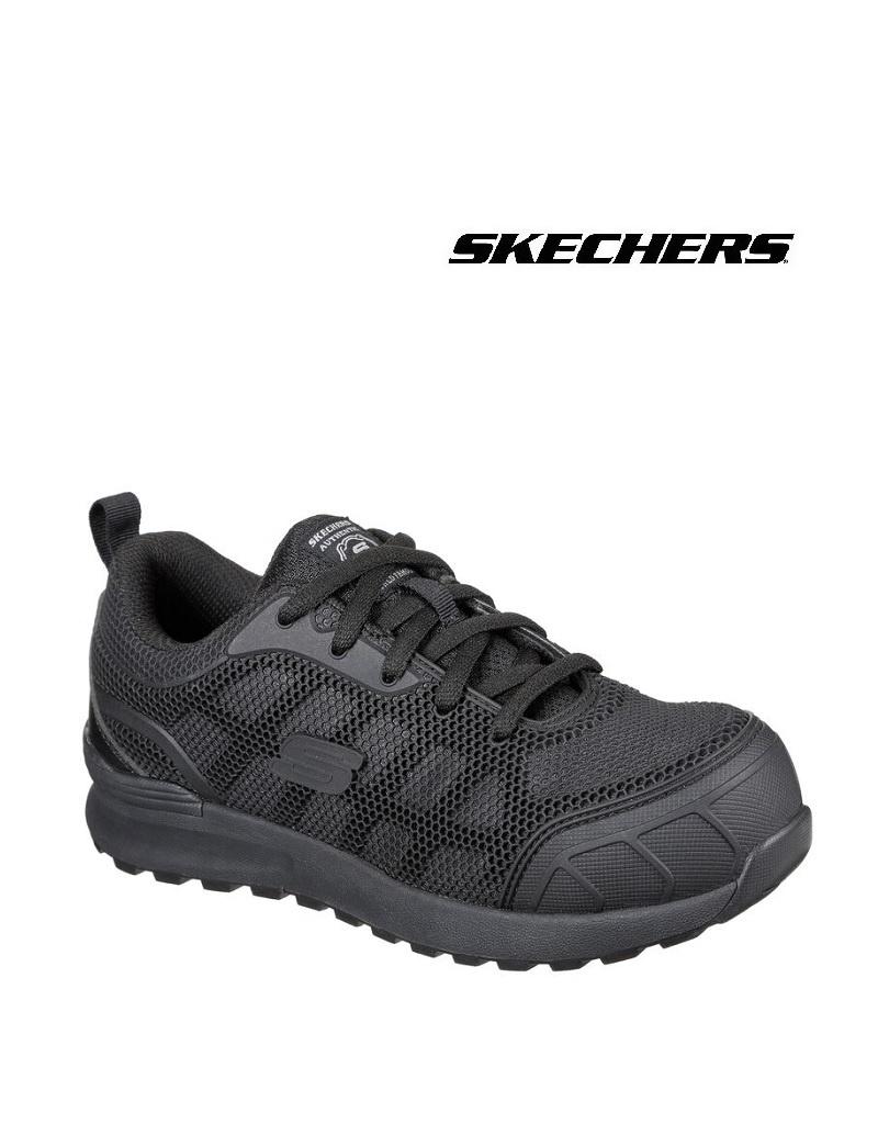 Skechers 77289EC BBK S1P Sicherheitsschuh für Damen von Skechers