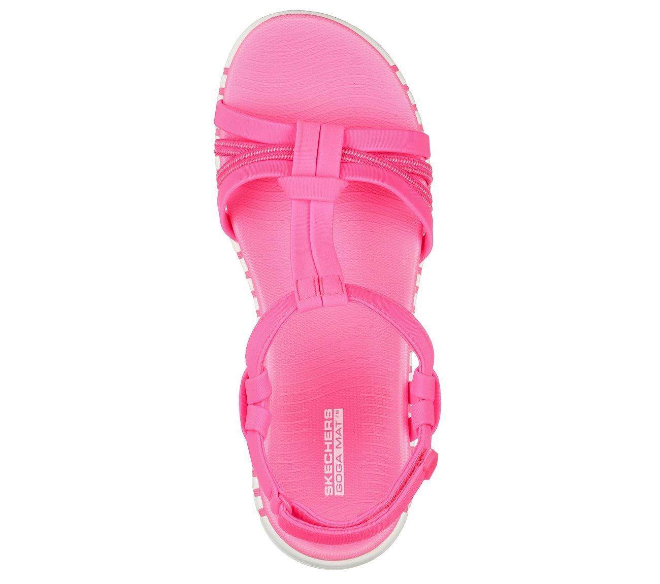 Skechers 140197 PNK - Freizeitschuh -Sandale Pink