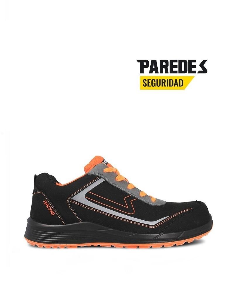 Paredes SP5198NENA.S3- Sicherheitsschuh - Hamilton, schwarz mit Orange