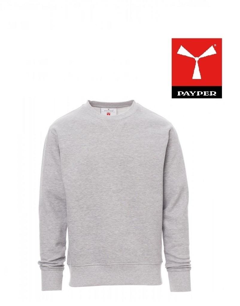 Payper Orlando Melange - Pullover - Herren-Sweatshirt mit Rundhalsausschnitt
