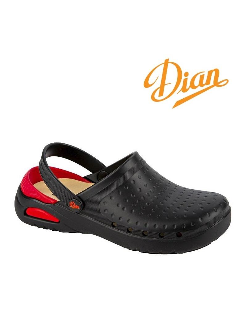 Dian EVA Soft schwarz  - Berufsschuh von DIAN