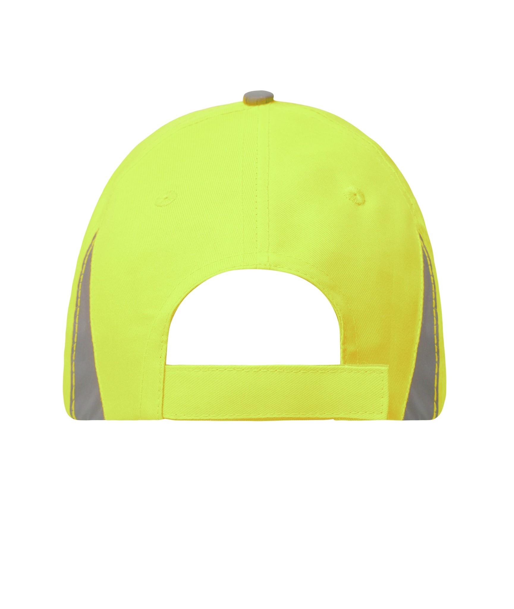 James Nicholson MB6225 neon-yellow Safety Cap,  ( ohne Schutzfunktion/ keine PSA )