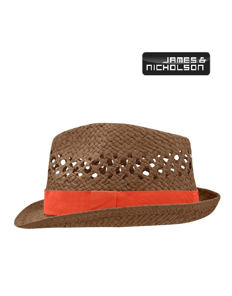 James Nicholson MB6598 nogr Trendstarker Hut in aufwendiger Flechtoptik