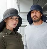 James Nicholson MB6242 olive Funktionaler Hut mit extra langem Nackenschutz