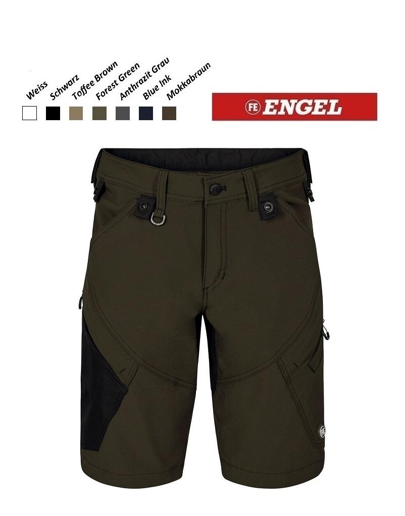 Engel FE6366.53- Arbeitshose - X-Treme Stretch-Shorts, forest grün