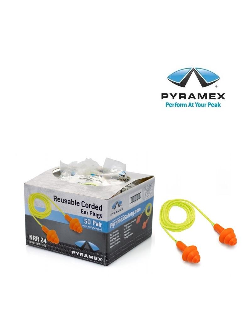 Pyramex RP3001 - Box mit 50 Paar Box Gehörschutzpfropfen