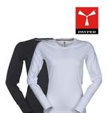 Payper Pineta Lady - Langarm T-Shirt, weiss und schwarz