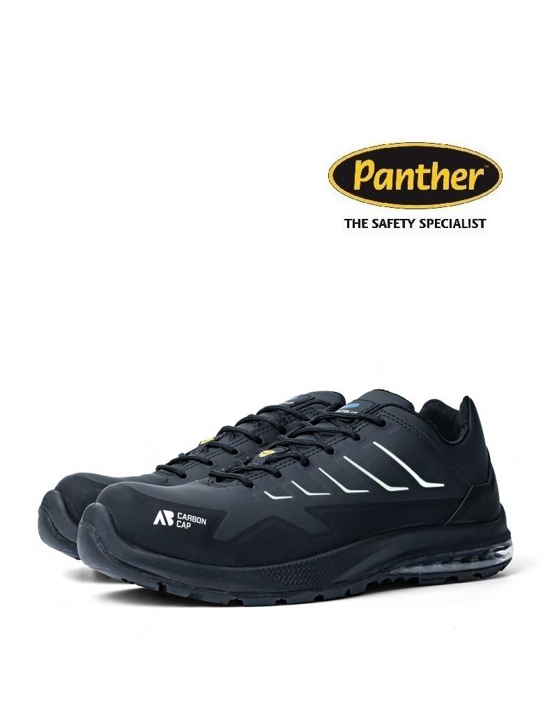 Panther 9041000LA S3 - Sicherheitsschuh Mars Black Low von Panther