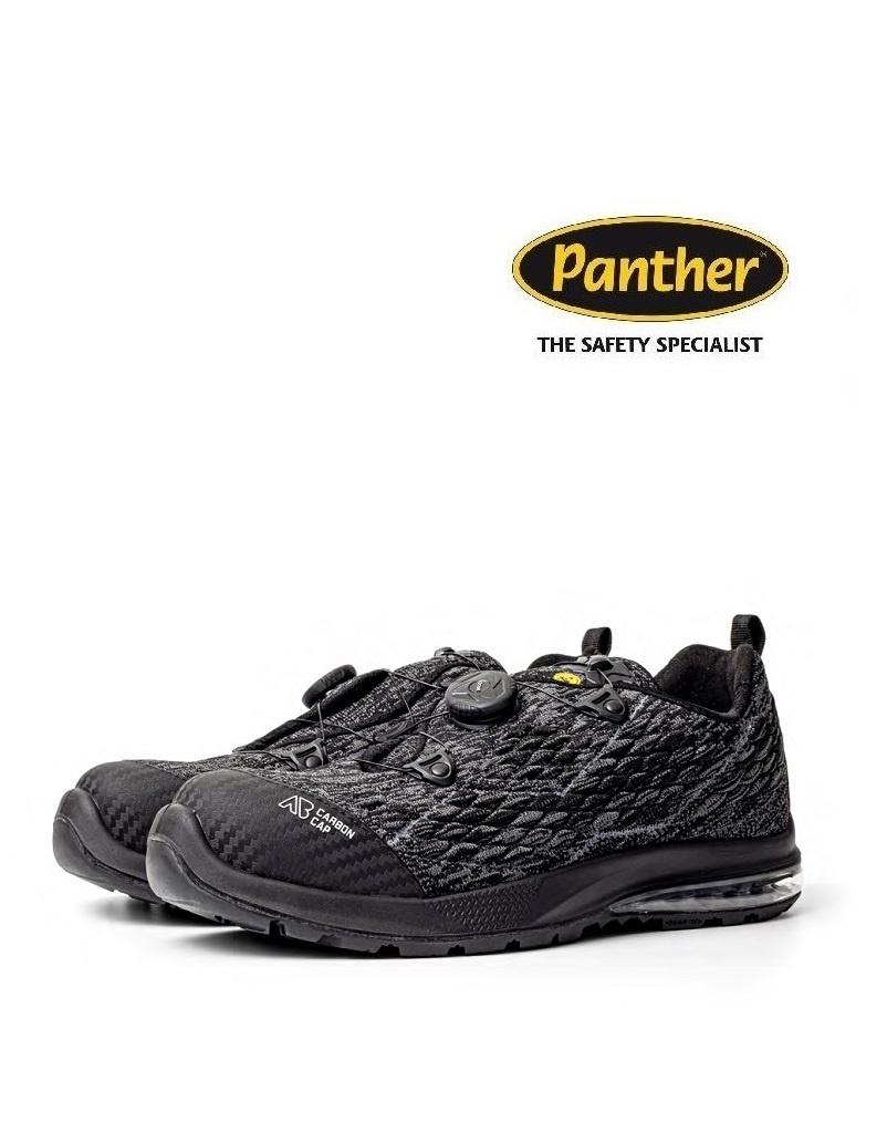 Panther 9041400LA S3 - Sicherheitsschuh SATURNO Black TOP von Panther