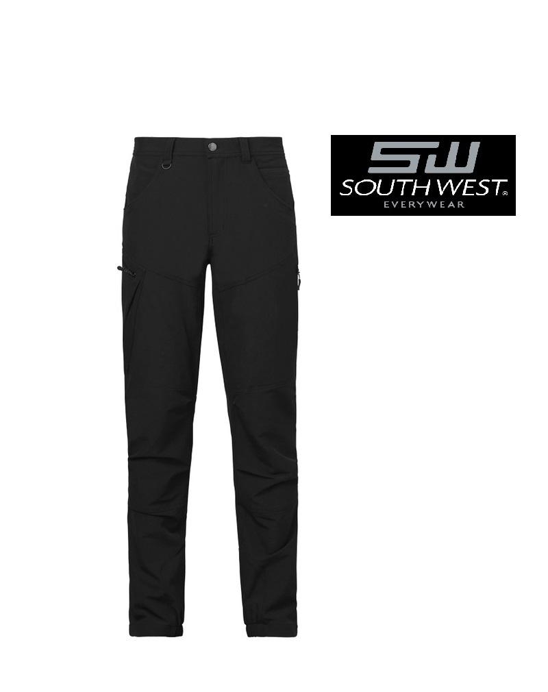 South West 906.99 schwarz  -Damen-Arbeitshose Wega-5-Pocket, Stretch von South West
