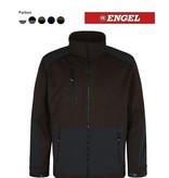 Engel FE1363.5320.S X-treme Strickjacke, Grün mit schwarz von ENGEL