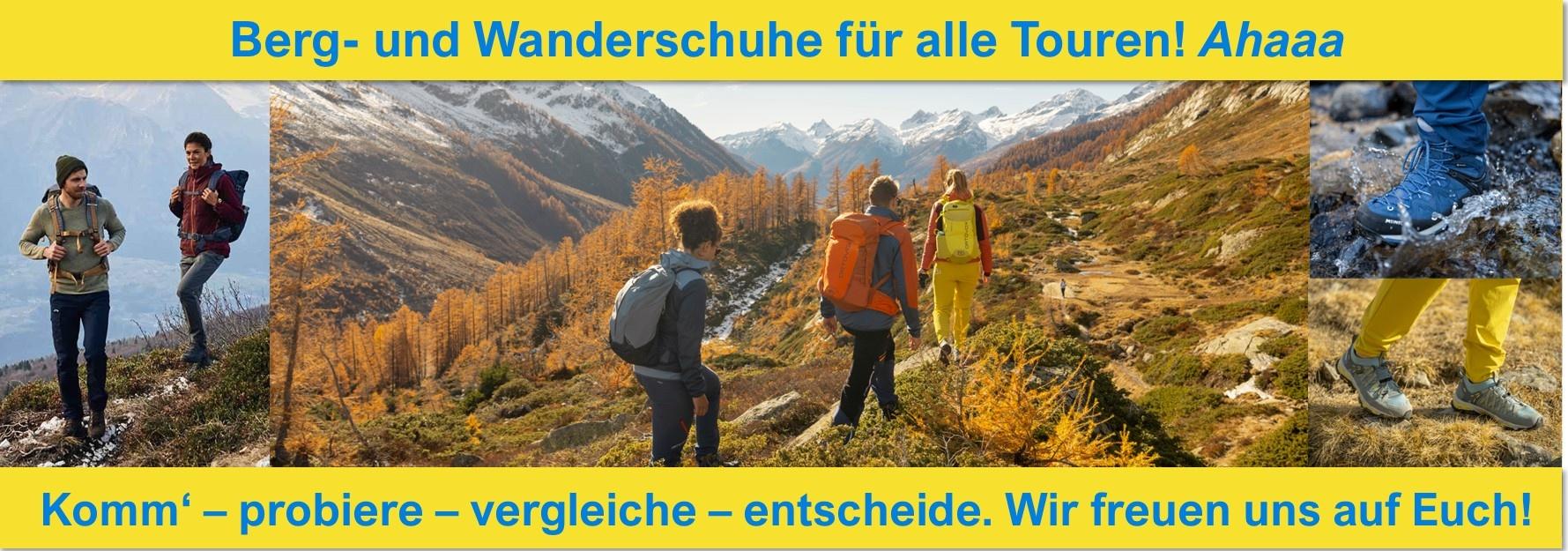 Berg- und Wanderschuhe Slider