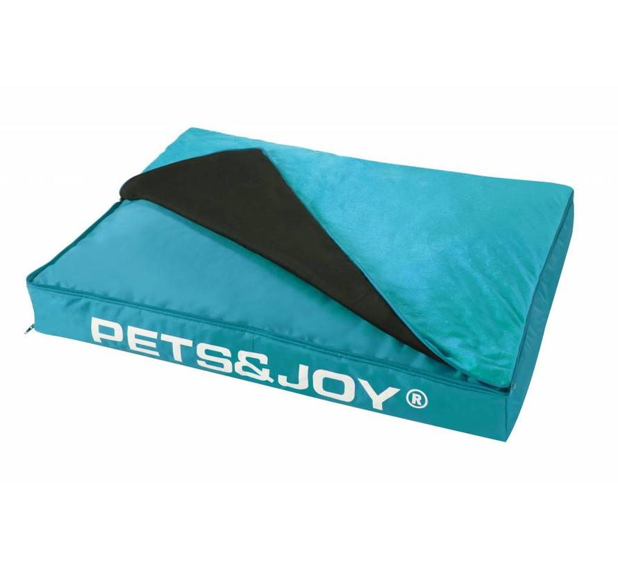 Dog Bed Large Aqua