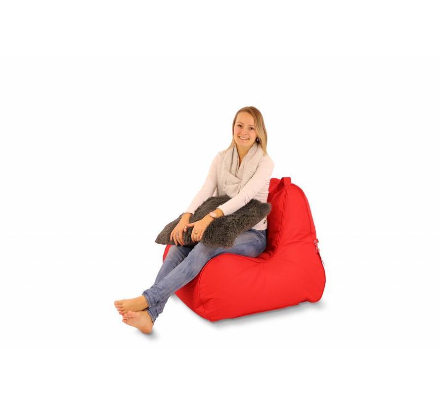 Lounge Chair Zitzak Adults Rood