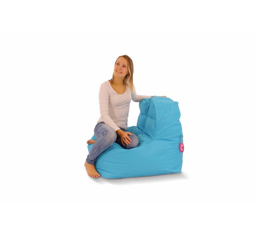 Sofa Chair Zitzak Aquablauw