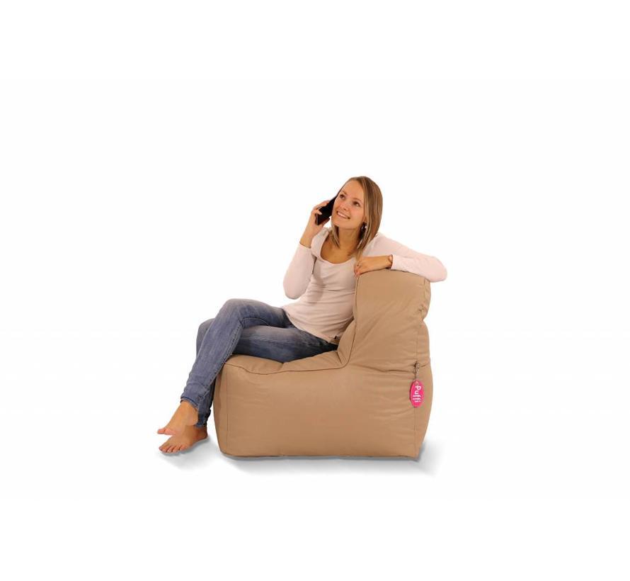 Sofa Chair Zitzak Taupe
