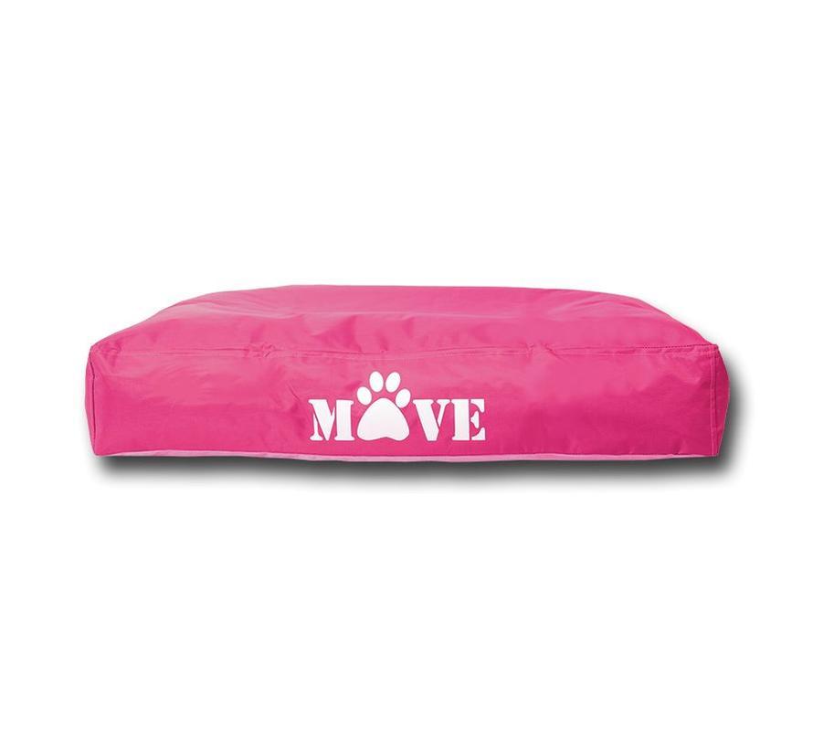 Move Dog Bed Medium 55x75x13cm Pink