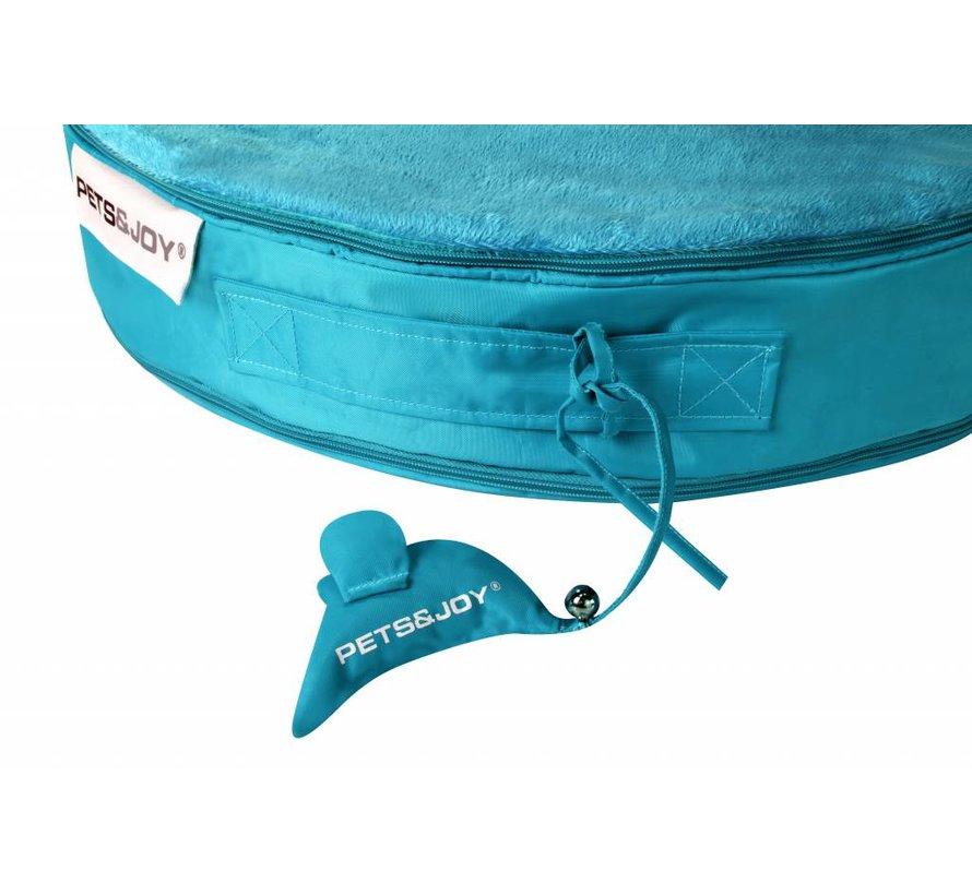 Cat Bed Aquablauw