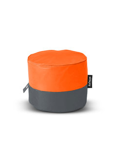 Sit&Joy Rondo Oranje Poef/Zitzak  - Copy