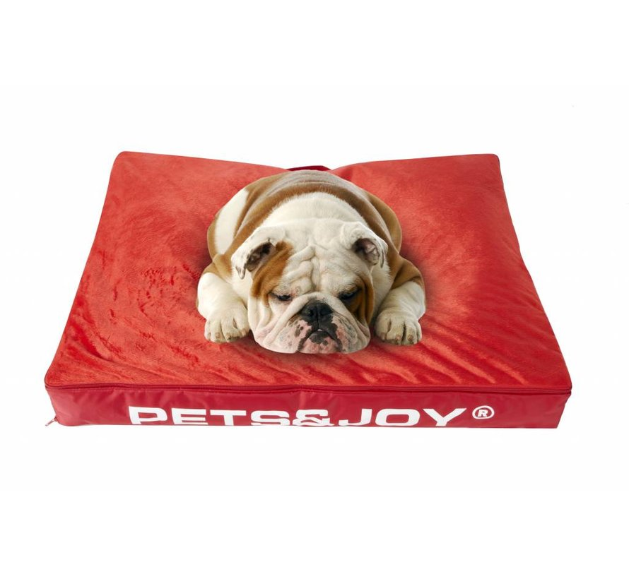 Dog Bed Medium Rood