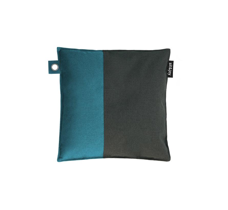 Duo Tutti - Mint Blauw - Sierkussen/Zitzak