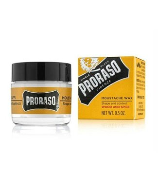 PRORASO Mustache wax Wood and  Spice