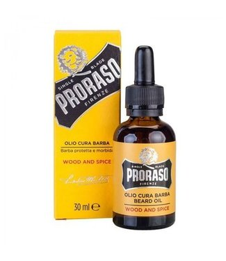 PRORASO Beard Oil Wood and Spice