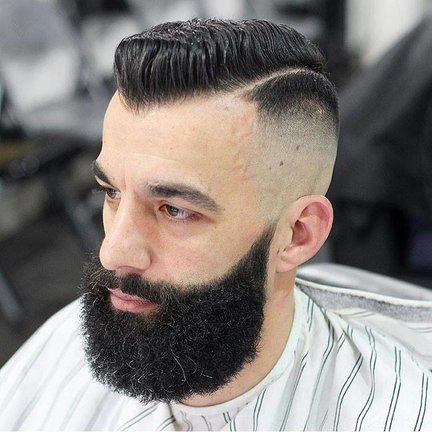 Beard Brush for a full looking beard