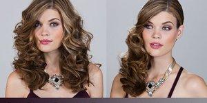 Glamour hair