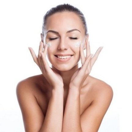 Day and night creams for normal skin.