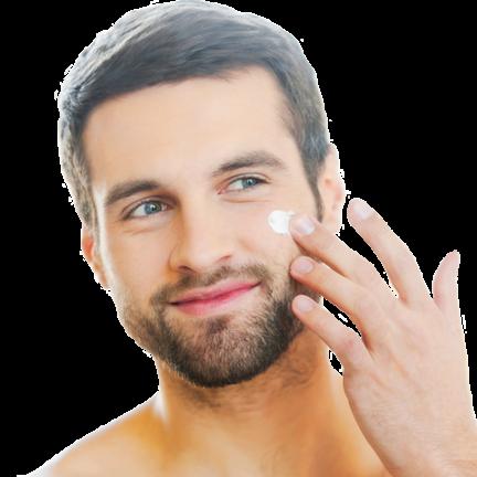 Huidverzorging voor mannen voor een verzorgd uiterlijk