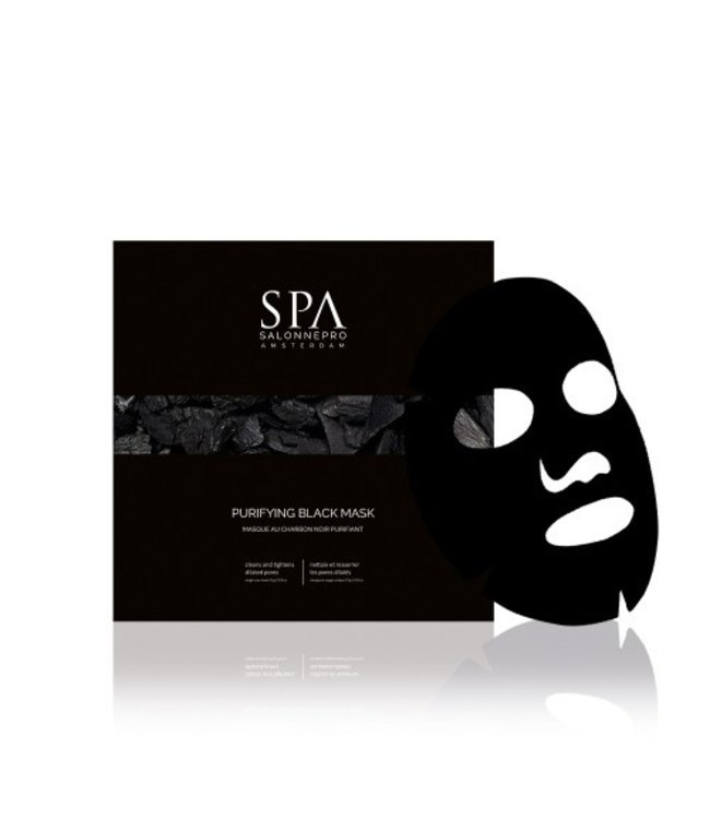 SPA  Purifying Charcoal Black Mask