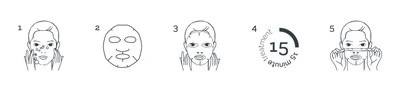 BeautyPro nourishing collagen mask 2