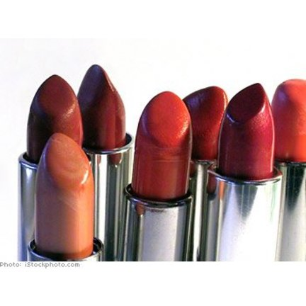 Lipstick with nourishing vitamin E pampers the lips