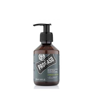 PRORASO Beard Wash Cypress & Vetyver