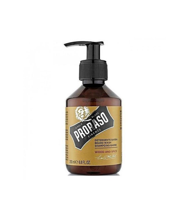 PRORASO Beard Wash Wood and Spice