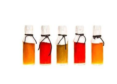 Soßen, Öle, Essige und Senf