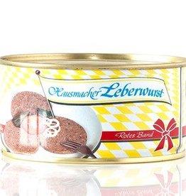 Metzgerei Metzler Hausmacher Leberwurst, 125g