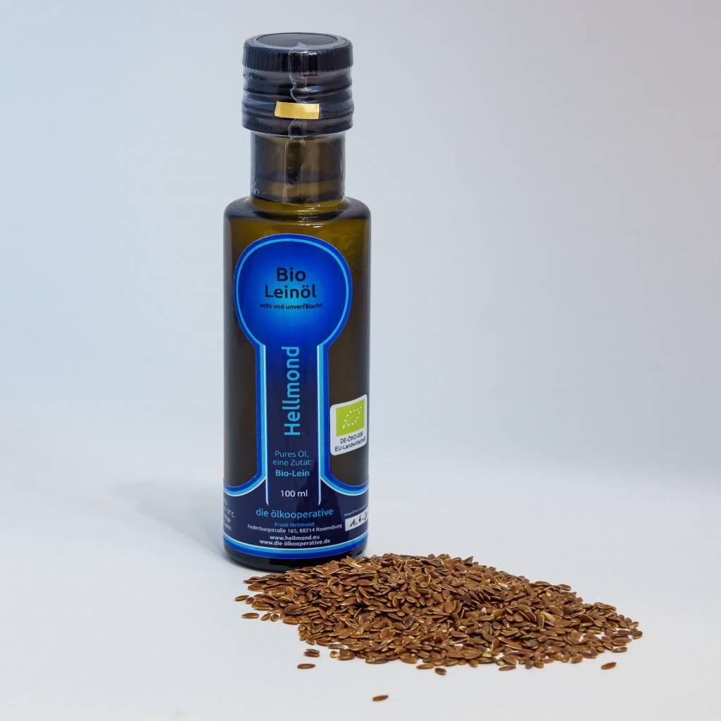 Hellmond - Die Ölkooperative Leinöl 100ml