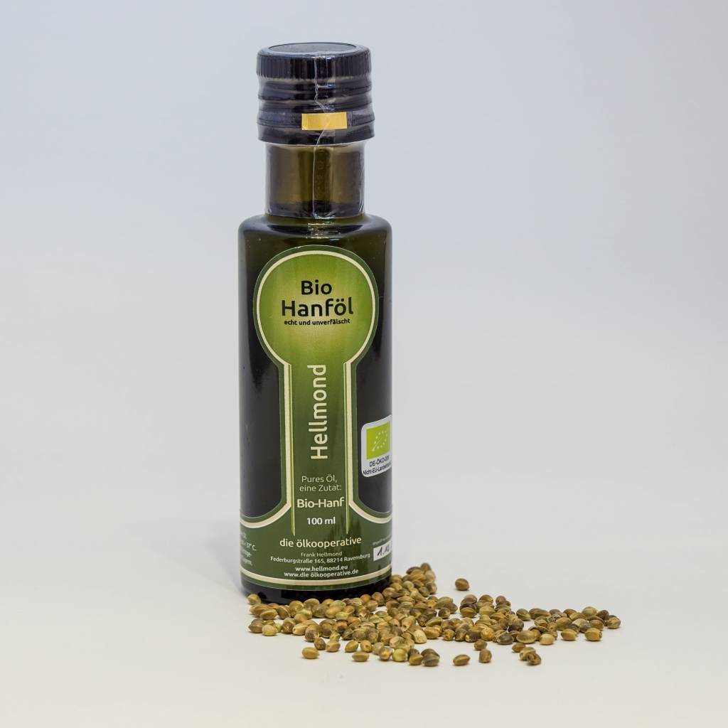 Hellmond - Die Ölkooperative Hanföl 100 ml